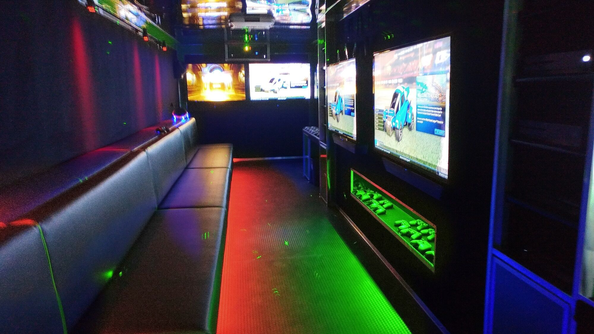 pinehurst-north-carolina-video-game-party-truck