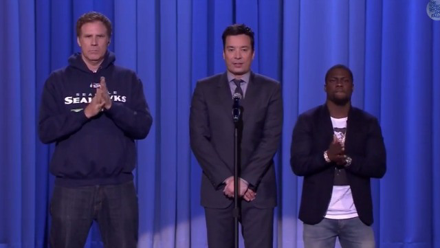 Will Ferrell, Kevin Hart, and Jimmy Fallon Have some Lip Sync Fun!