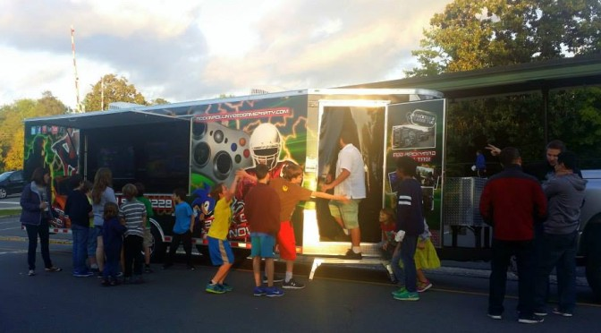 Rockin' Rollin' Video Game Party at Southern Pines First Friday!